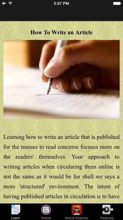 How To Write an Article - Tips and Tricks