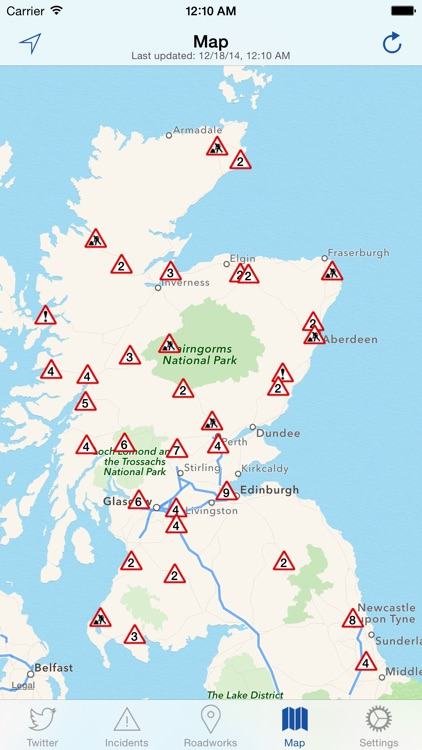 Traffic Scotland screenshot-3