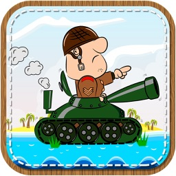 Tank Attack Of Wars - army hero fighting world old day