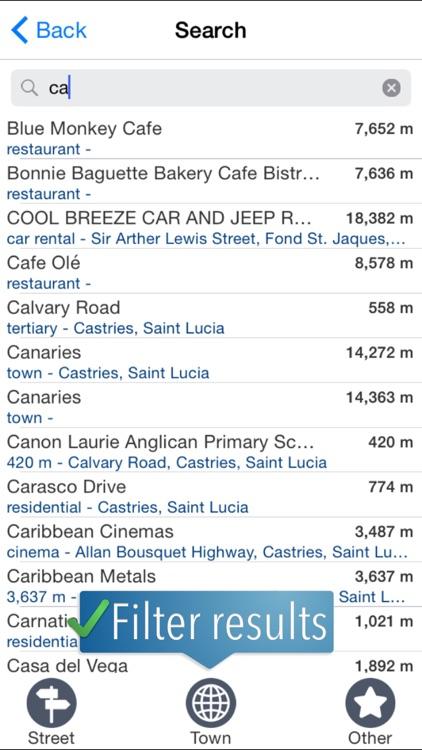 Saint Lucia Travelmapp screenshot-3