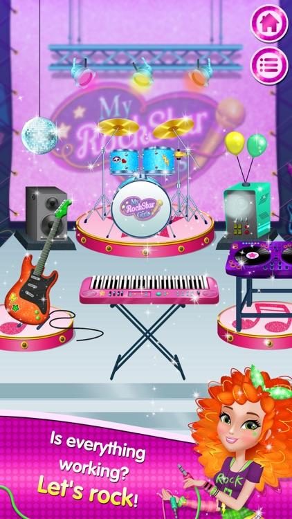 My Rockstar Girls - Party Rock Band screenshot-4
