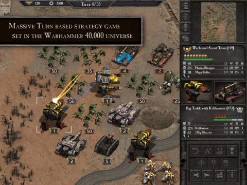 Warhammer 40,000: Armageddon на iPad