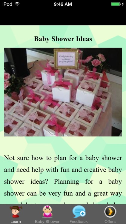 Baby Shower Ideas - First Time Mom