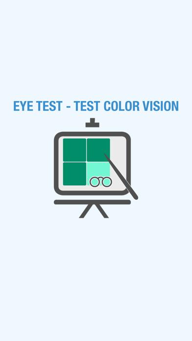Eye Test - Test Color Vision