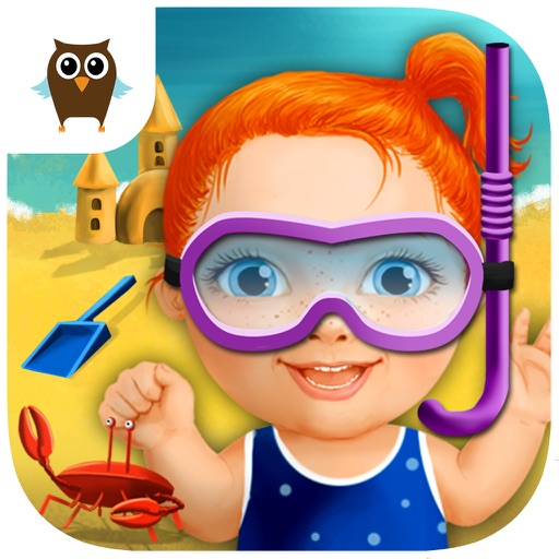 Sweet Baby Girl Beach Picnic – Kids Grill Burger Party, Dress Up and Decoration Game