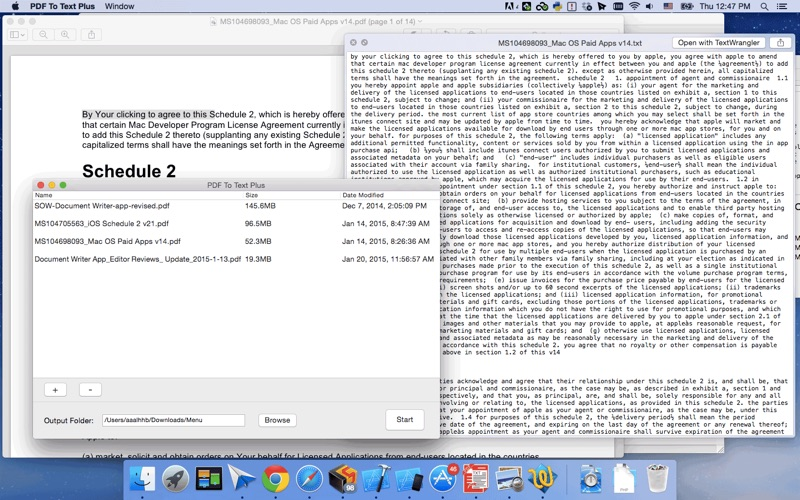 PDF To Text Plus Screenshot