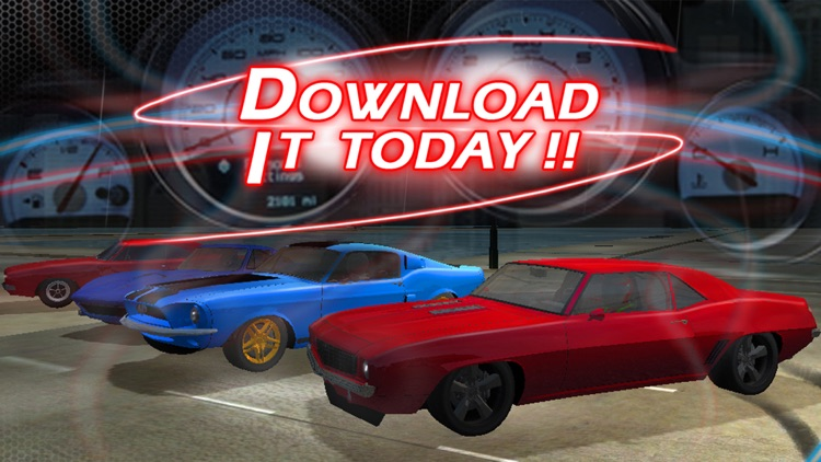3D Muscle Car V8 Parking: Classic Car City Racing Free Game screenshot-4