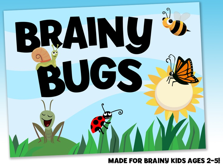 Brainy Bugs Preschool Games screenshot-0