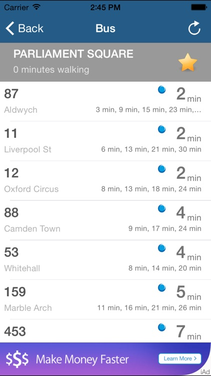 London City Due - Maps, Bus, Stops, Status, Tube, locations and mapper screenshot-4