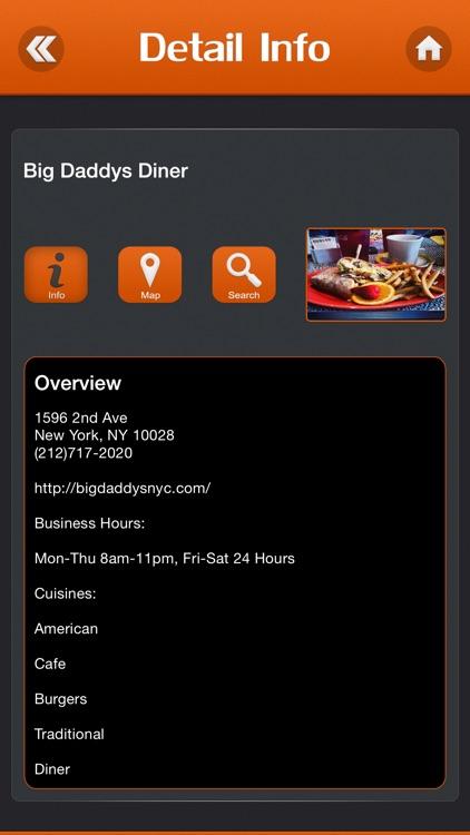 Chopped Restaurants Locations screenshot-3