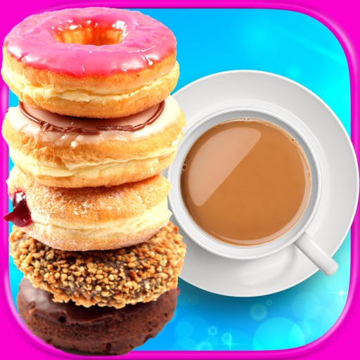 Coffee & Donuts Maker - Kids Cooking & Dessert Games FREE