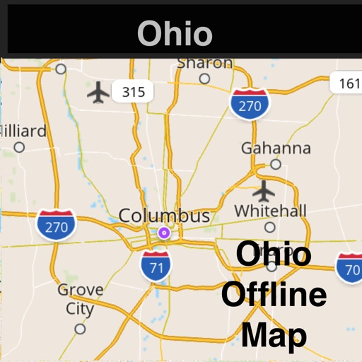 Ohio Offline Map With Real Time Traffic Cameras Pro By Calvin Chen