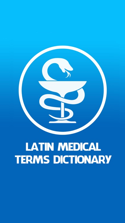 Latin medical terms dictionary