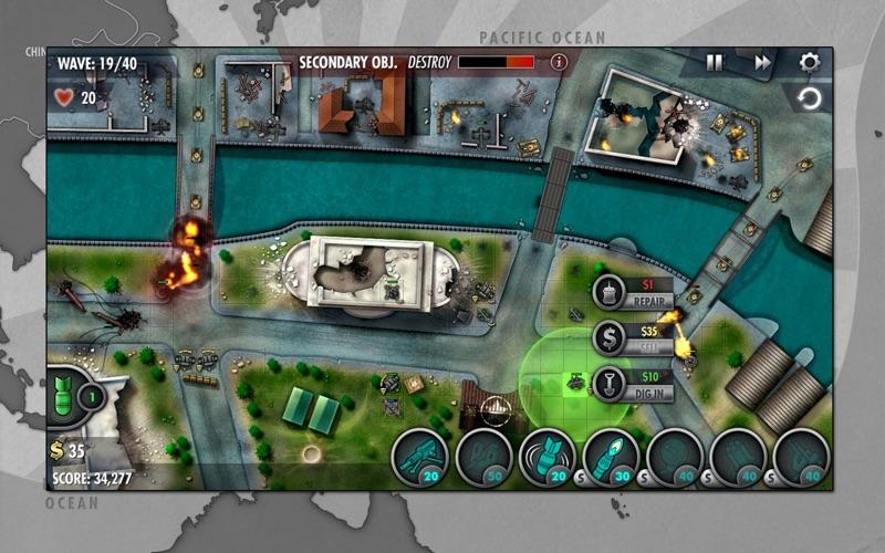 iBomber Defense Pacific screenshot 4