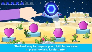 Screenshot for Preschool All In One Basic Skills Space Learning Adventure A to Z by Abby Monkey® Kids Clubhouse Games in United States App Store