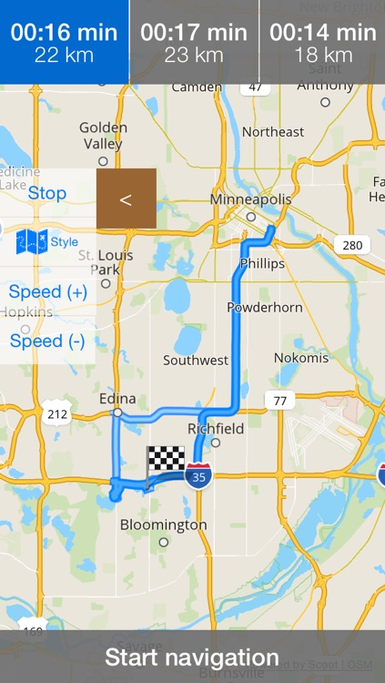 Minnesota/Minneapolis Offline Map & Navigation & POI