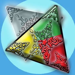 Colors Skip - Triangle Challenge