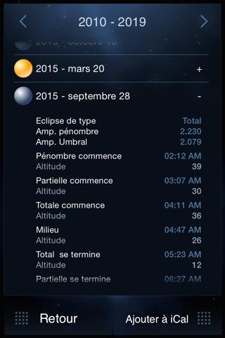 Deluxe Moon Pro - Moon Phases Calendar screenshot 4