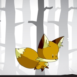 Save The Tiny Fox - Spooky Forrest Endless Run