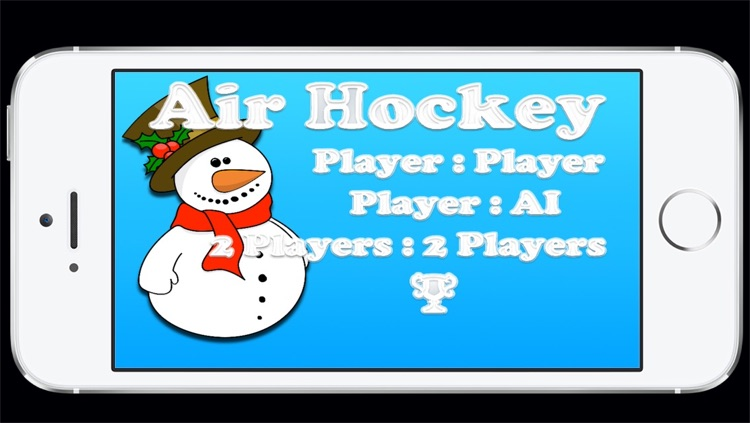 Air Hockey in the Winter