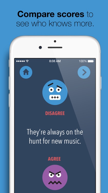 Friend Score - play, compare answers & get insights