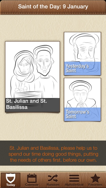 Saint of the Day for Kids : 365 Printable & Sharable Catholic Saints screenshot-1