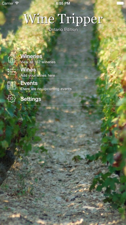 Wine Tripper - Ontario Edition