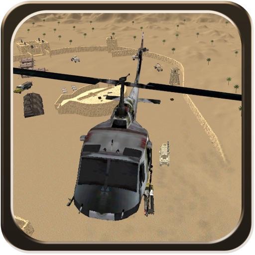 Helicopter Desert Action - Air Heli Gunship Strike