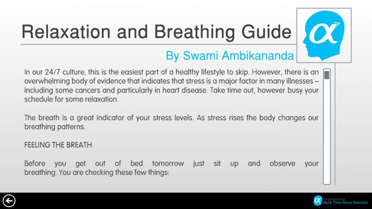 Trypnaural Alpha Theta Stress Reduction screenshot-3