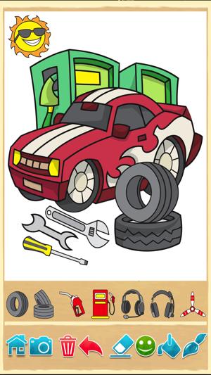 Autos Malbuch: Malvorlagen für Finger Malerei mit Autos, Lastwagen ...