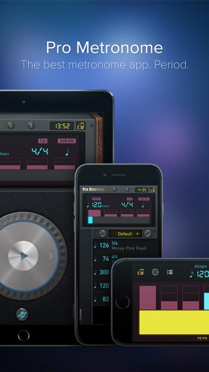 Pro Metronome - Tempo,Beat,Subdivision,Polyrhythm app image