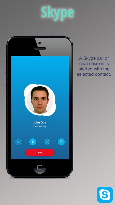 Sky Contacts - Start Skype calls and send Skype messages from your contactsのおすすめ画像2