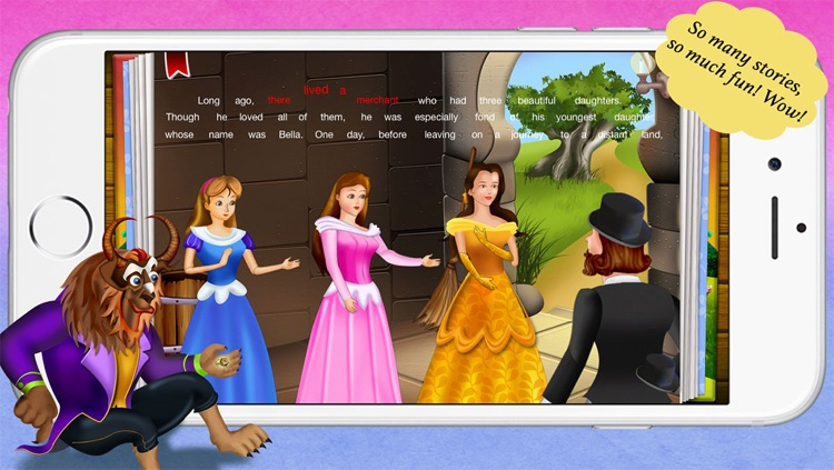 Beauty and the Beast by Story Time for Kids screenshot-3