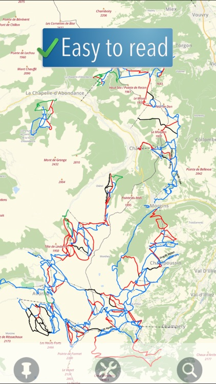 Portes du Soleil Ski Map screenshot-0