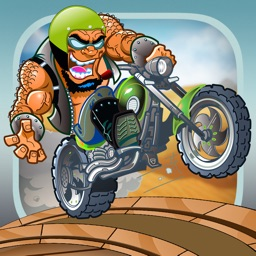 A Monster Motorcycle Power Jump FREE - The Ultimate Bike Rally Stunt Game