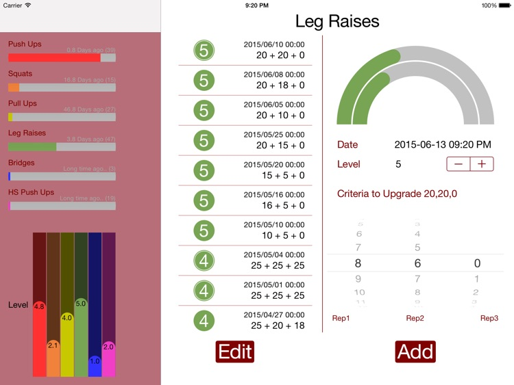 CC Tracker Pro for iPad