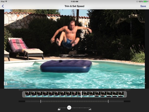 SuperSlo - Slow Motion Video Editor and Camera ipad images