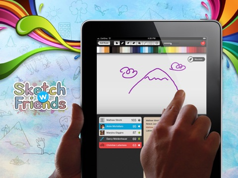 Top 10 Apps like Sketch W Friends Multiplayer Drawing And