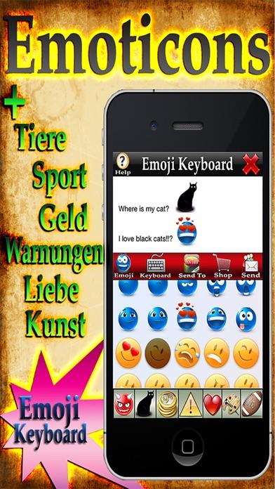 Emoji 2+ – Kostenlose Emoticons + Emoji Keyboard!Screenshot von 1