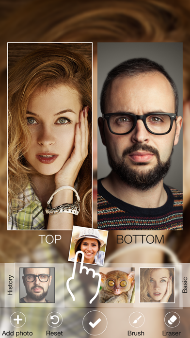 Face Replace! - Selfie Swap - Switch Your Head In Hole Photo Frame Templates Screenshot on iOS