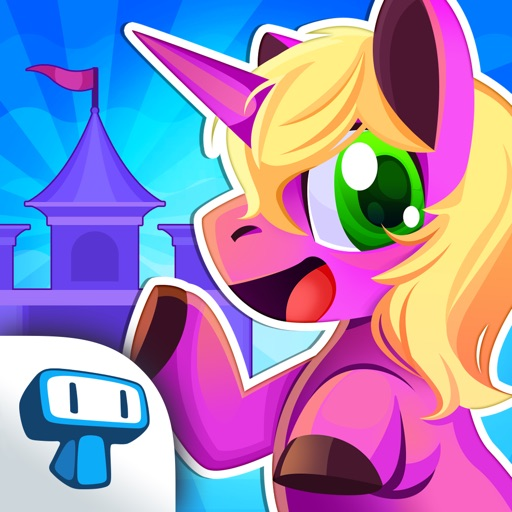 My Magic Castle - Pony & Unicorn Doll House and Decoration Game iOS App