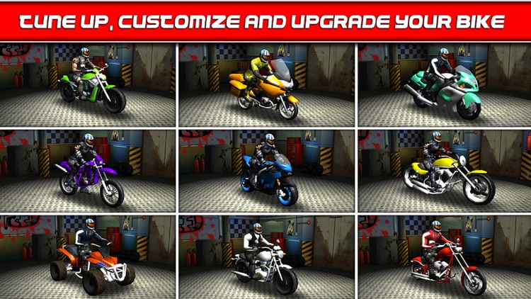 Bike Traffic Race Mania a Real Endless Road Racing Run Game screenshot-2