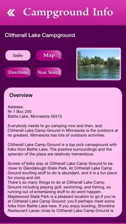 Minnesota Campgrounds Guide