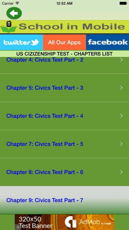 US Citizenship Test Free screenshot-3