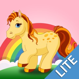Ponies & Horses Lite: Real & Cartoon Pony Videos & Games for Kids by Playrific