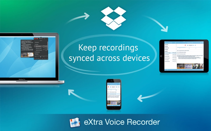 Screenshot #4 for eXtra Voice Recorder