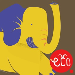 Elephant Story for Kids: The Fun Animal Adventure for Children 3 to 4 year old, preschool and up - Cute Interactive Ecology Book in English