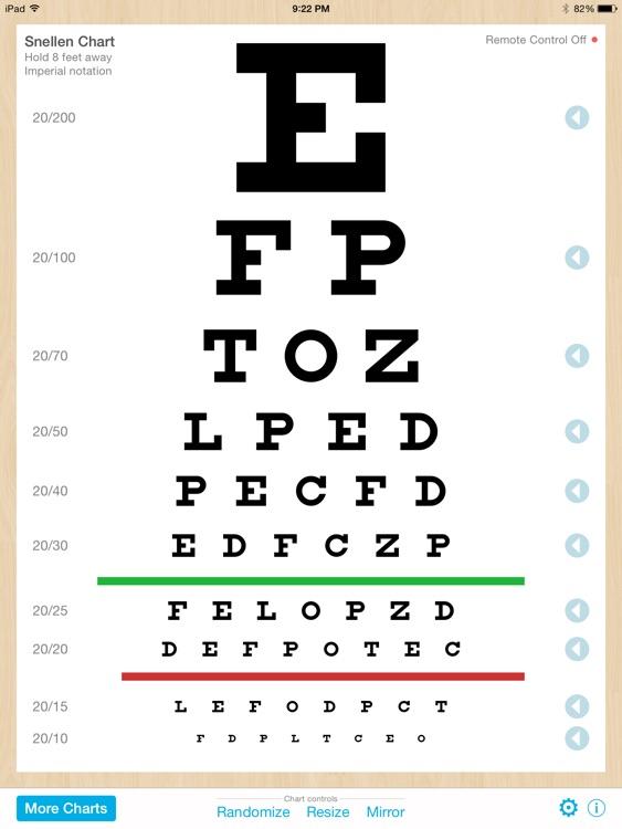 Eye Chart Premium screenshot-3