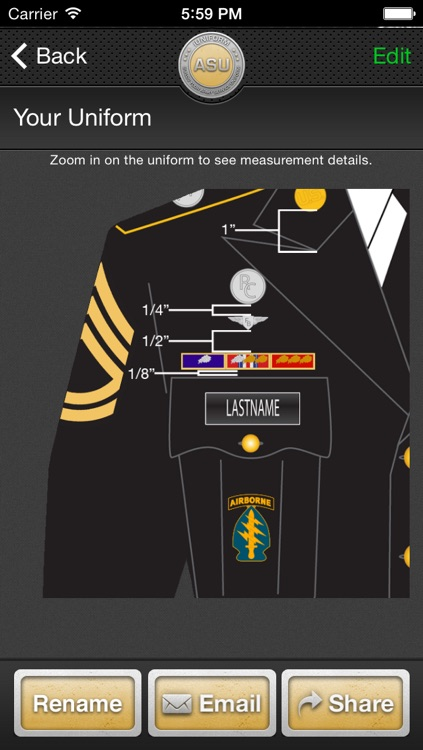 iUniform ASU - Builds Your Army Service Uniform screenshot-4
