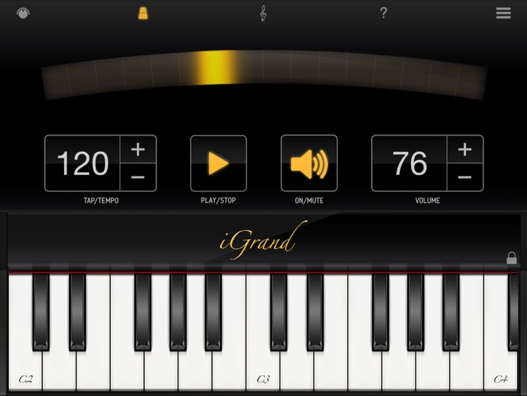 iGrand Piano FREE for iPad screenshot-3